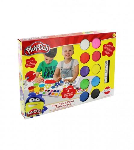 PLAY DOH Igračka set plastelin i bojice 45280978