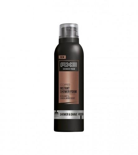 AXE Pjena za tuširanje i brijanje 200ml Copper 160136