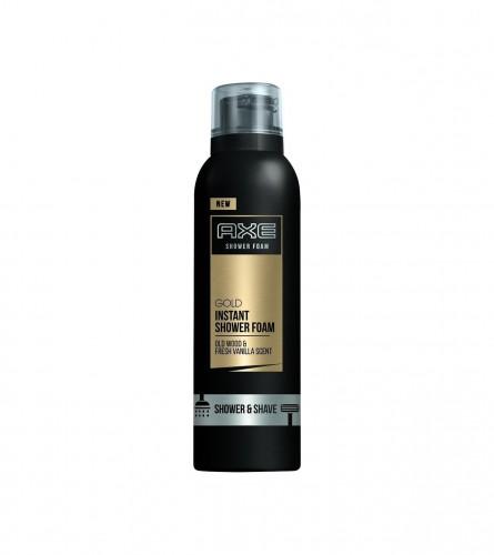AXE Pjena za tuširanje i brijanje 200ml Gold 152188