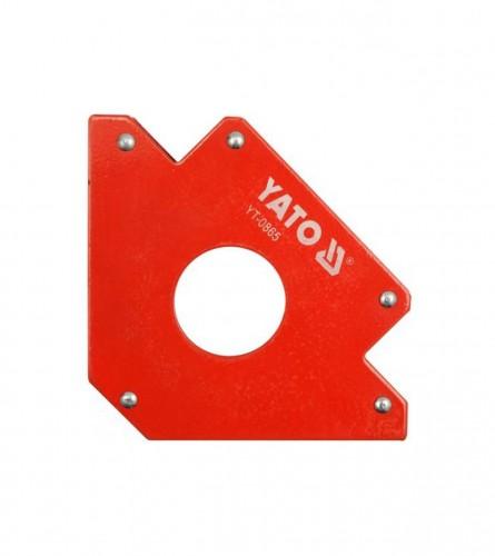 YATO Držač magnetni za kutno zavarivanje 122x190x25mm YT-0865