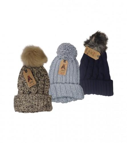 MASTER Kapa ženska zimska sa pufnicom