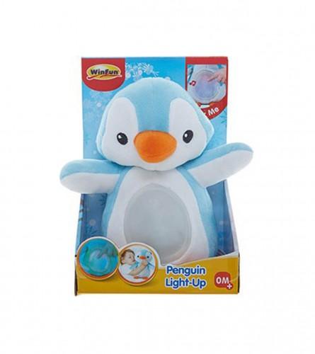 MASTER Igračka pingvin plišani sa svjetlom i zvukom 178974
