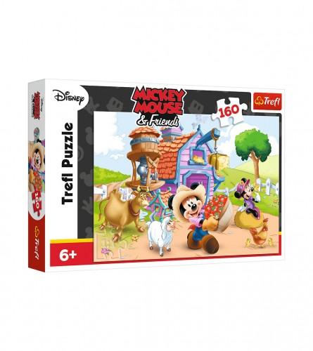 DISNEY Igračka puzzle Mickey i prijatelji 160/1 307337