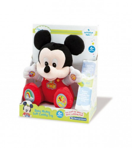CLEMENTONI Igračka Mickey Mouse sa zvukom 35101010