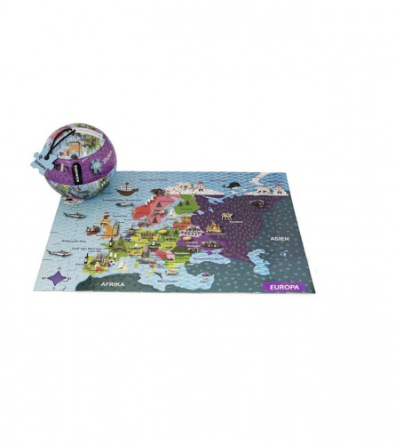 CARLETTO Igračka puzzle u lopti Europa 100/1 180247