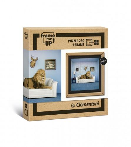 CLEMENTONI Igračka puzzle lav sa okvirom 250/1 181112