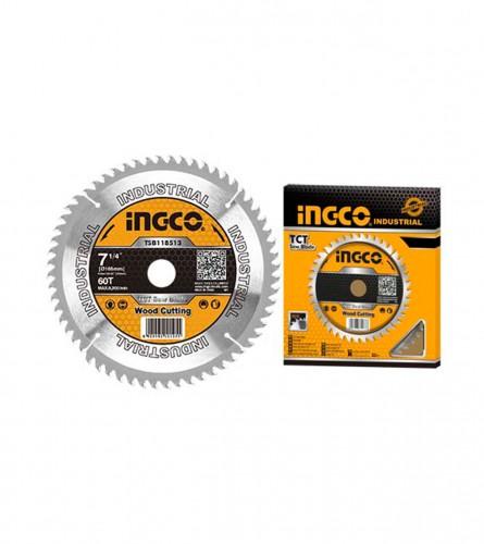 INGCO TOOLS Ploča rezna za drvo 185x20mm 60T TSB118513