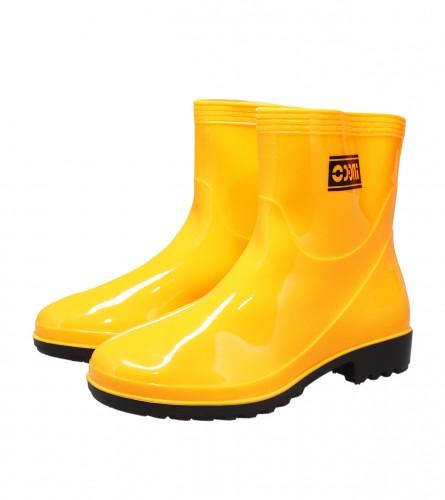 INGCO TOOLS Čizme gumene kratke br.43 SSH102L.43 Žute