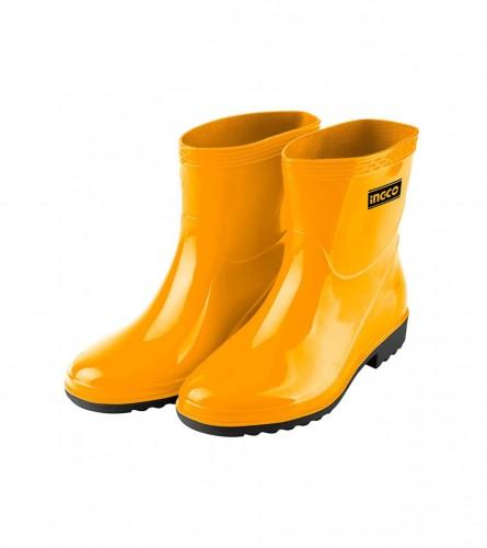 INGCO TOOLS Čizme gumene kratke br.45 SSH102L.45 Žute