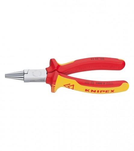 KNIPEX Kliješta zaobljena električarska 160mm 2206160