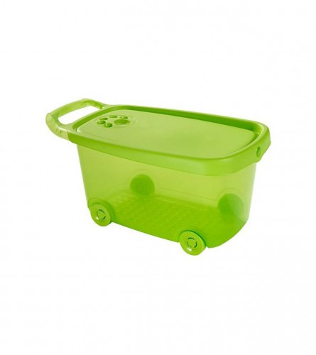 CURVER Kutija za igračke 45l 04170-720-02 Žuta/zelena