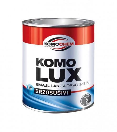 KOMOCHEM Emajl lak za drvo i metal brzosušivi Komolux 52005982