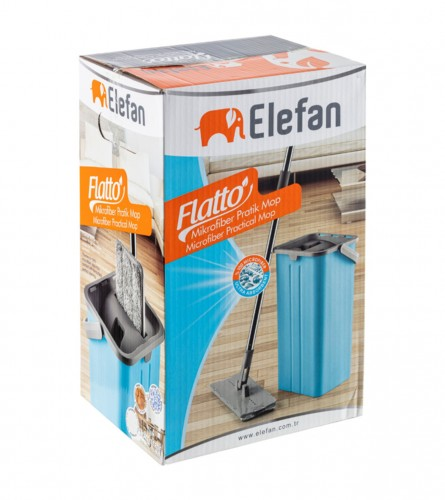MASTER Set mop i kanta Flatto HNTTBLMP