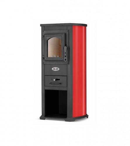 BLIST Štednjak Ekonomik Lux N 5-7kW 004435 Crveni