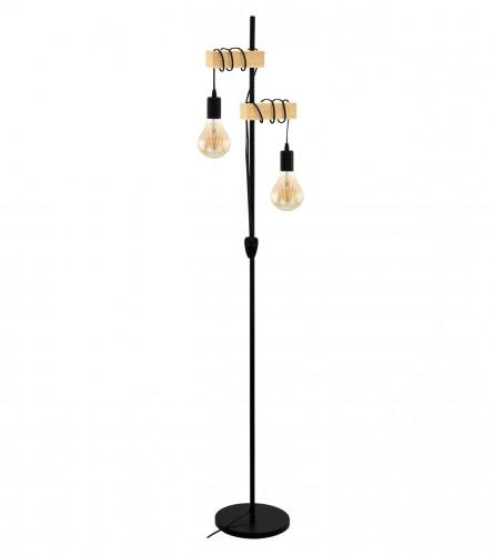 MASTER Lampa stojeća retro 40W SA3084/2F-BK