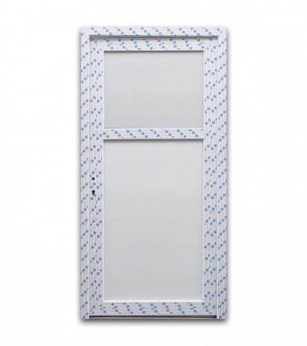 DECCO Vrata PVC za wc 80x210cm lijeva