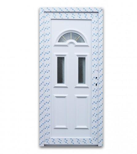 DECCO Vrata ulazna PVC 110x200cm panel lijeva