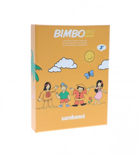 SAMBONET Pribor za ručavanje dječiji 4/1 Bimbo 5255798