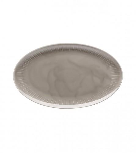 ARZBERG Tanjir za serviranje 38cm Joyn Grey 12738