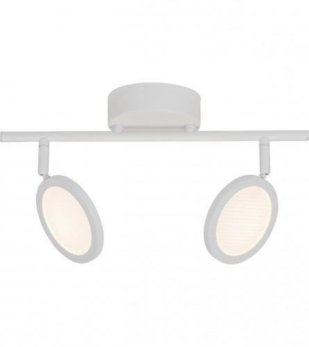 BRILLIANT Lampa spot LED XAVE 2x4,2W DE2 G71513/05