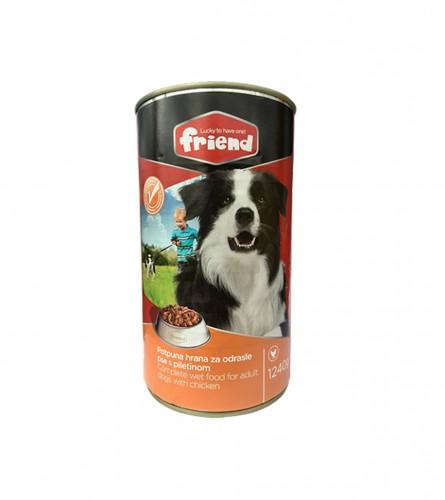 FRIEND Hrana za pse Chicken max 1240g 55203