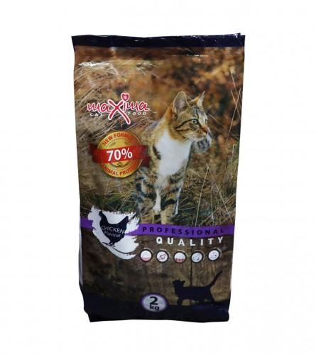 MAXIMA Hrana za mačke piletina 2kg 65