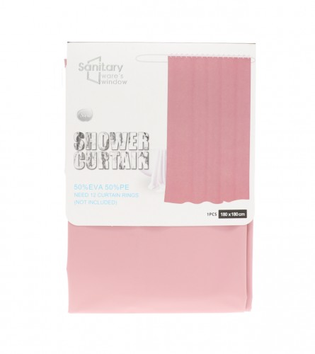 MASTER Paravan za tuš 180x180cm roza 01210008