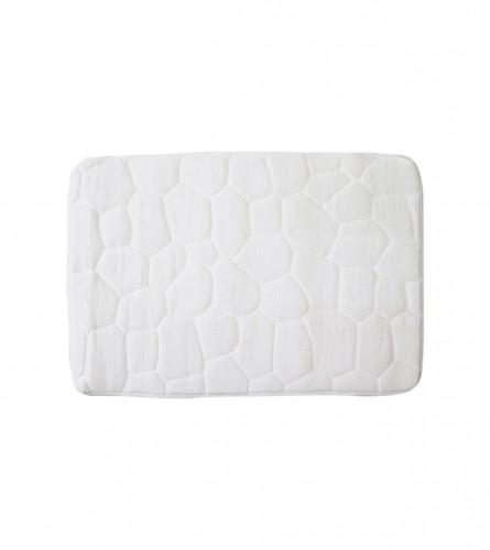 MASTER Prostirka za kupatilo 70x45cm bijela 01210023