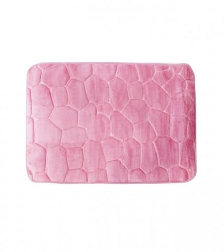 MASTER Prostirka za kupatilo 70x45cm roza 01210022