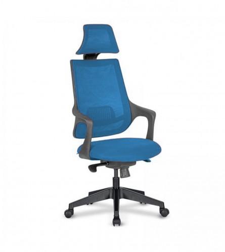 MASTER Stolica kancelarijska plava ALFA 01
