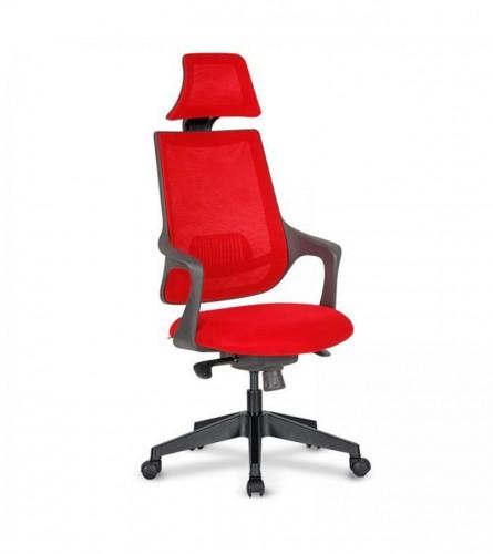 MASTER Stolica kancelarijska crvena ALFA 01
