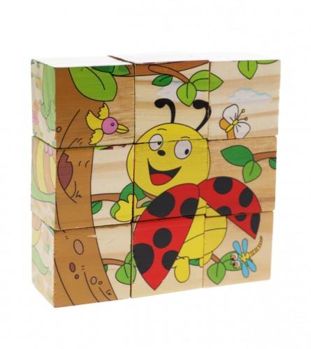 MASTER Igračka kocke drvene 10x10cm 01210349