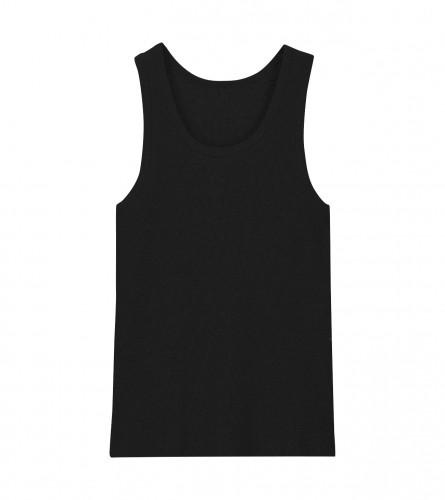 HOT-SAS Potkošulja ribana muška crna XL