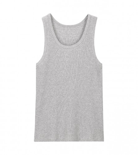 HOT-SAS Potkošulja ribana muška siva XL