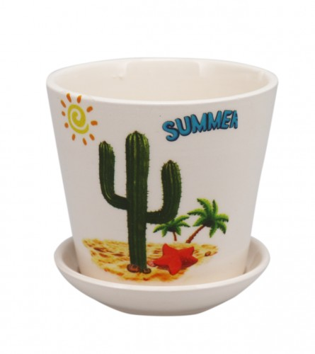 MASTER Saksija keramička kaktus 01210190