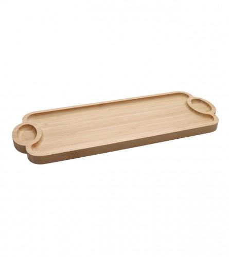 MASTER Tacna sa drškama bambus 39x14cm 01210419