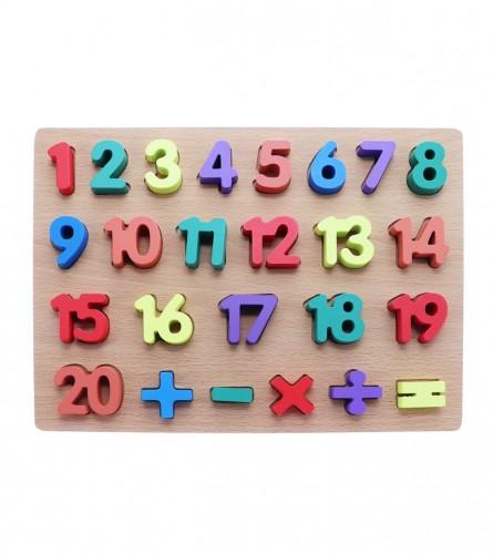 MASTER Slagalica brojevi-alfabet 30x23cm 01210571