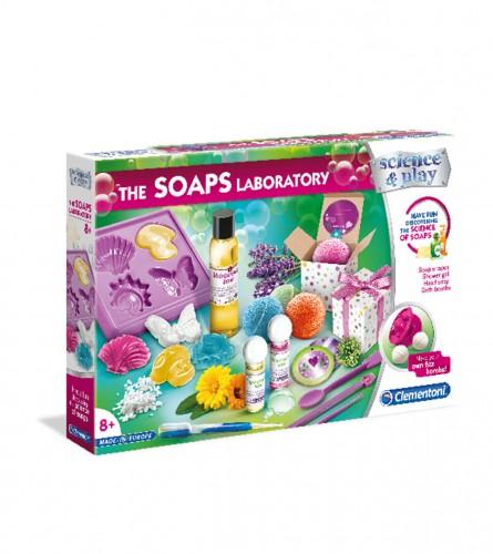 CLEMENTONI Igračka laboratorija za pravljenje sapuna 35780075