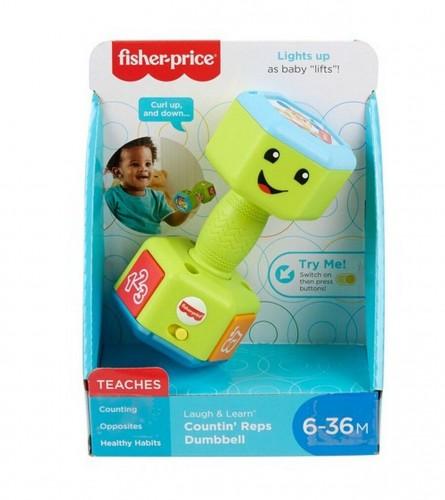 FISHER PRICE Igračka beby teg sa svjetlom i zvukom 90370008