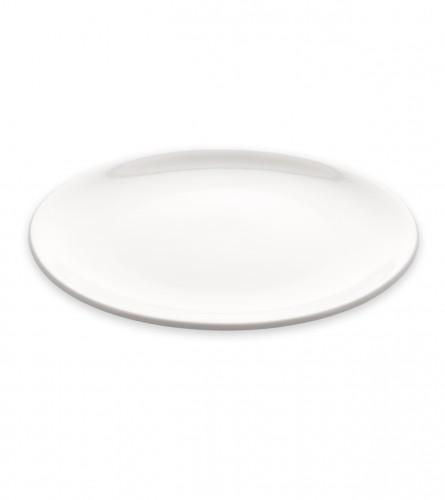 MASTER Tanjir plitki keramički 23cm bijeli 01210839