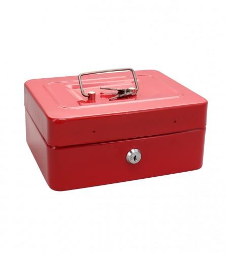 MASTER Kutija sef sa ključem crvena 20x16x9cm 01210904