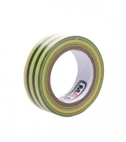 MASTER Traka izolir 19mm 10m žuta/zelena