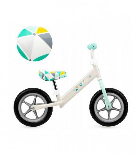 QKIDS Balans bicikl FLEET QKIDS00001 Bijela/zelena