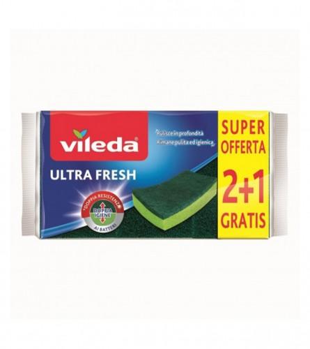 VILEDA Spužvica Abrasive Ultra Fresh 2+1 5481