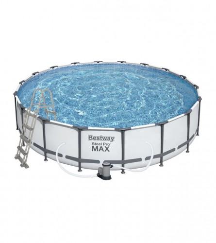 BESTWAY Bazen 457x107cm Steel Pro Max sa dodacima 56488