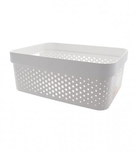CURVER Kutija Infinity sa rupicama 11l bijela 04750-040-11
