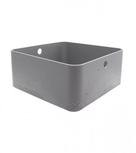 CURVER Kutija bez poklopca 8l siva 243406