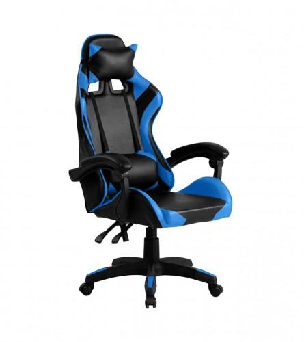 MASTER Stolica gaming crno-plava DC124
