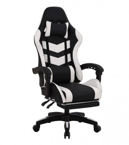 MASTER Stolica gaming crno-bijela DC55T