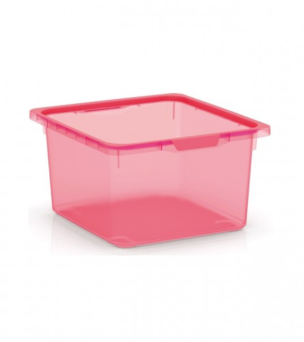 KIS Kutija sa poklopcem 17,5l roza